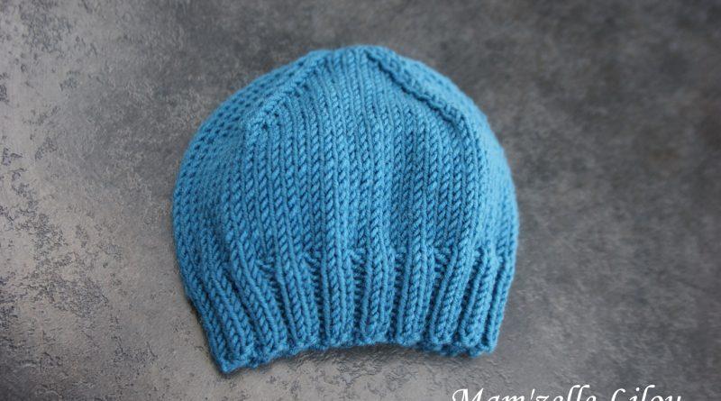 Tuto tricot bonnet naissance - altoservices 1ce0ada85d0