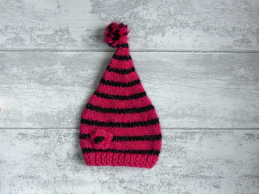 Bonnet lutin tricot - altoservices