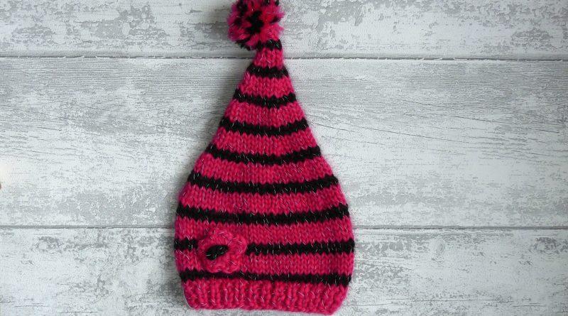 Tuto bonnet lutin bébé tricot - altoservices cd5d4bc6b64