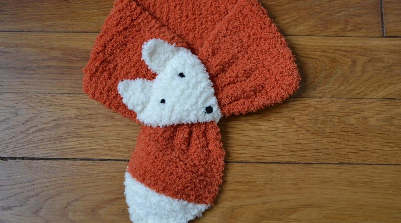 Modele tricot echarpe renard - altoservices 288c7bc813c