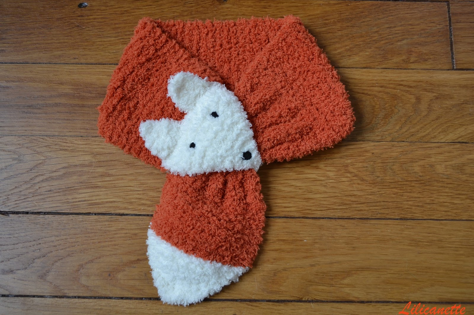 5523683b76a Modele tricot echarpe renard - altoservices