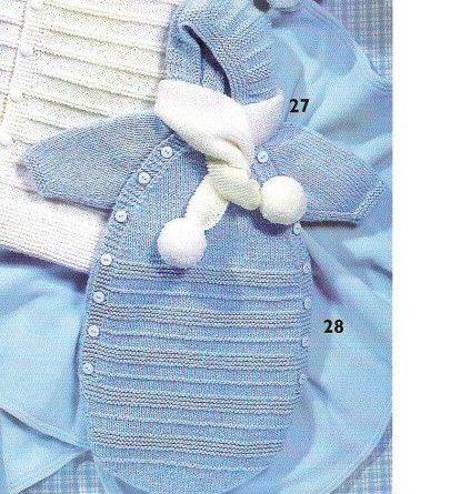 Patron tricot nid d ange bébé gratuit - altoservices d3d2b71fe6b