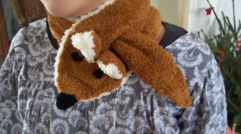 écharpe renard tricot - altoservices 03828ec9c62