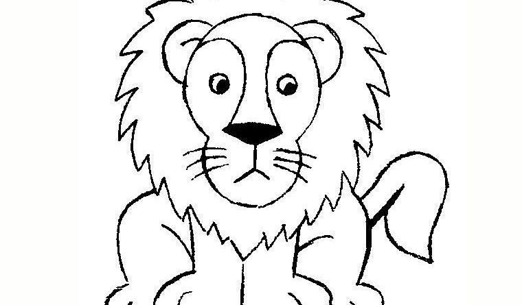 Comment dessiner un lion facilement altoservices - Dessiner un poisson facilement ...