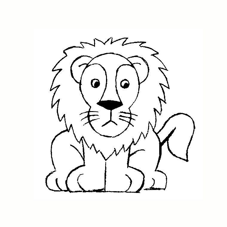 Comment dessiner un lion facilement