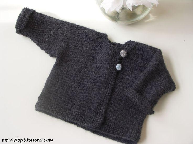 Modèle tricot bébé gratuit à télécharger - altoservices ac784ac48fa