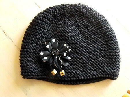 Tuto tricot bonnet bébé naissance - altoservices 936c50d1dfb