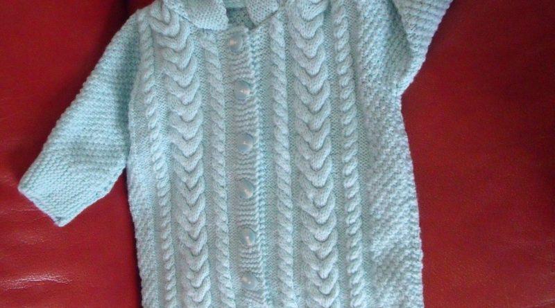 Modèle tricot nid d ange bébé gratuit - altoservices 94f73acbd31