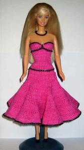 Modele tricot barbie gratuit