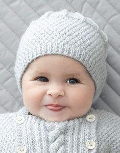 Patron tricot bonnet bébé rigolo - altoservices 56de6e1f3a3