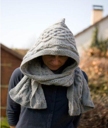 Modele tricot gratuit echarpe capuche - altoservices ee02d7fc149