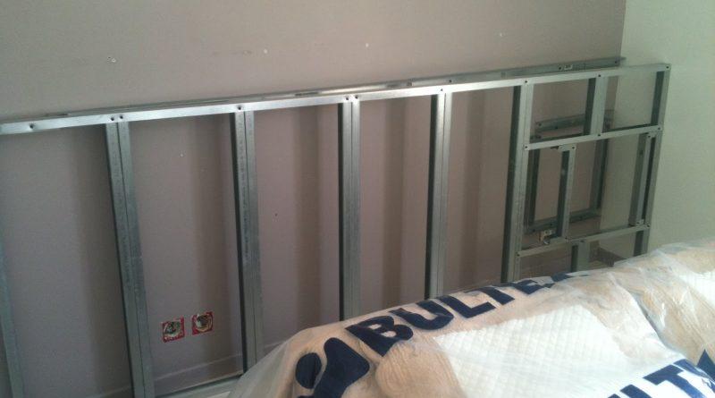 coffrage tete de lit placo altoservices. Black Bedroom Furniture Sets. Home Design Ideas