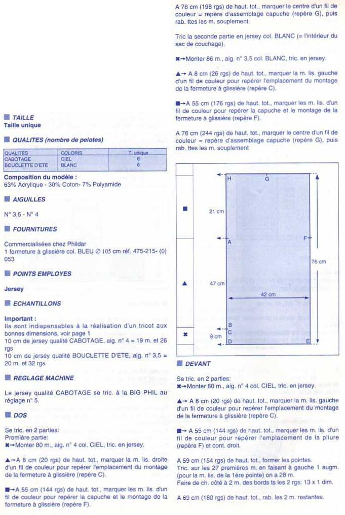 Modele tricot nid d ange gratuit - altoservices 23eae932d50