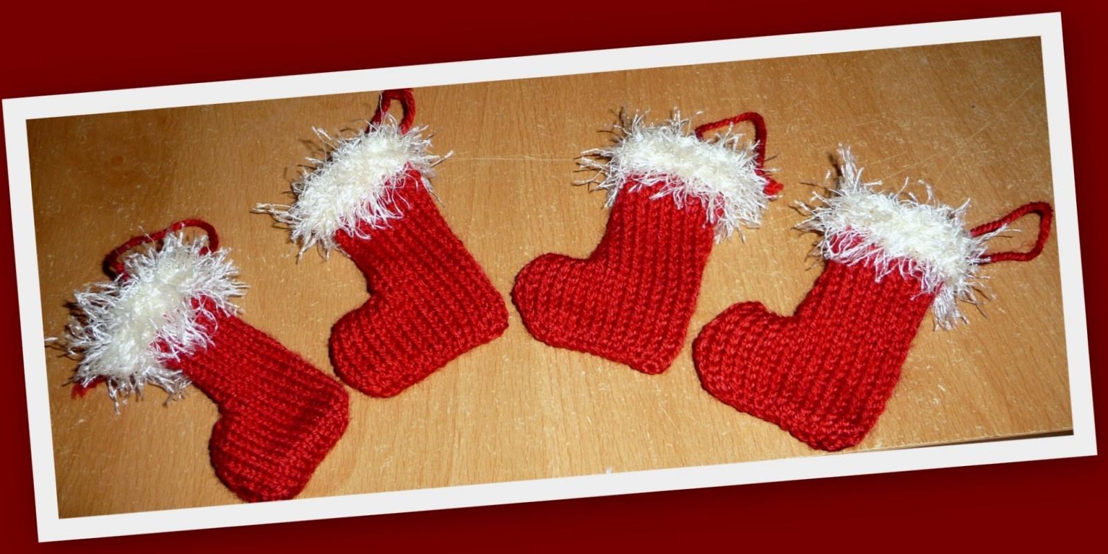 0aa9aec20463 Tricoter chaussette de noel - altoservices