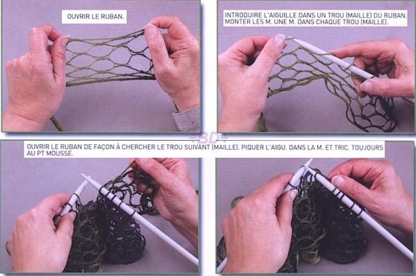 579f22e1a78f Comment tricoter une écharpe froufrou - altoservices