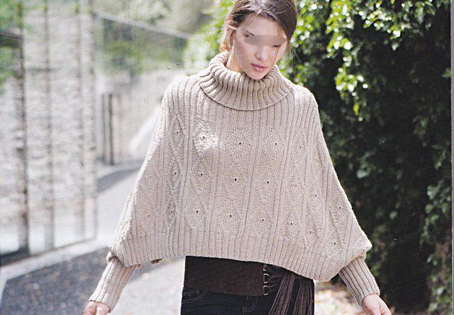 Modele tricot poncho femme phildar - altoservices 3f3365b8f73