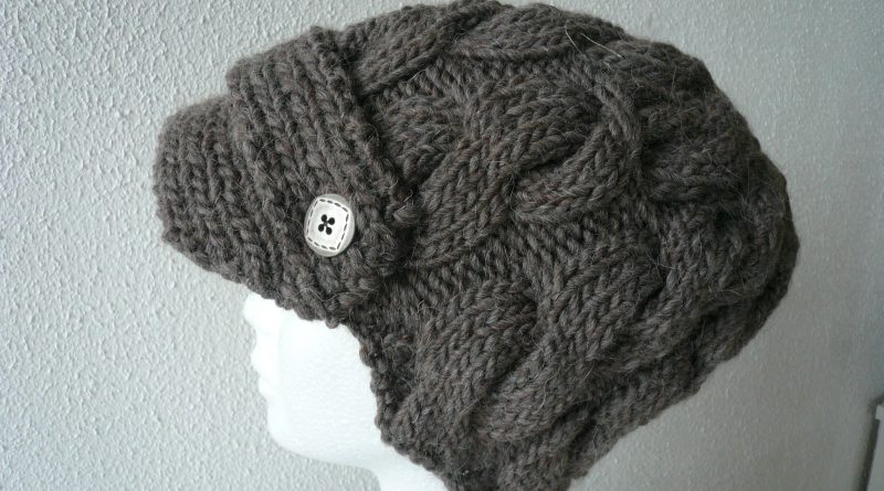 Tricoter une casquette - altoservices dbf3e7cb8a9