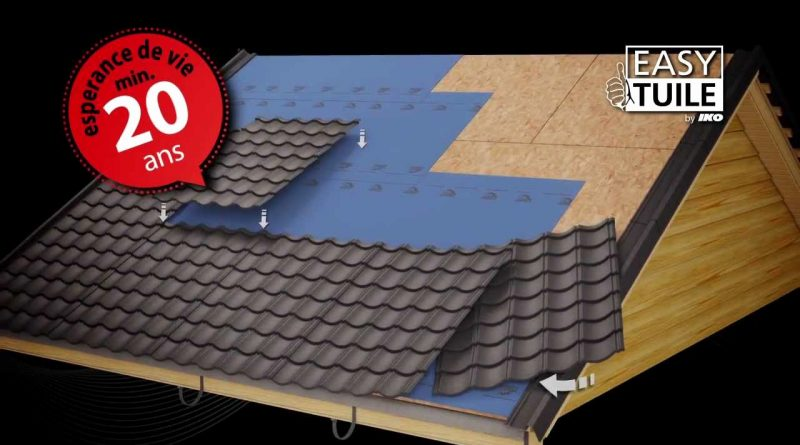 bac acier imitation tuile leroy merlin altoservices. Black Bedroom Furniture Sets. Home Design Ideas