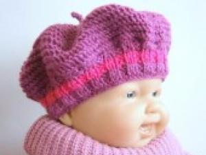 0ae7b2a04bfe Beret tricot bebe - altoservices