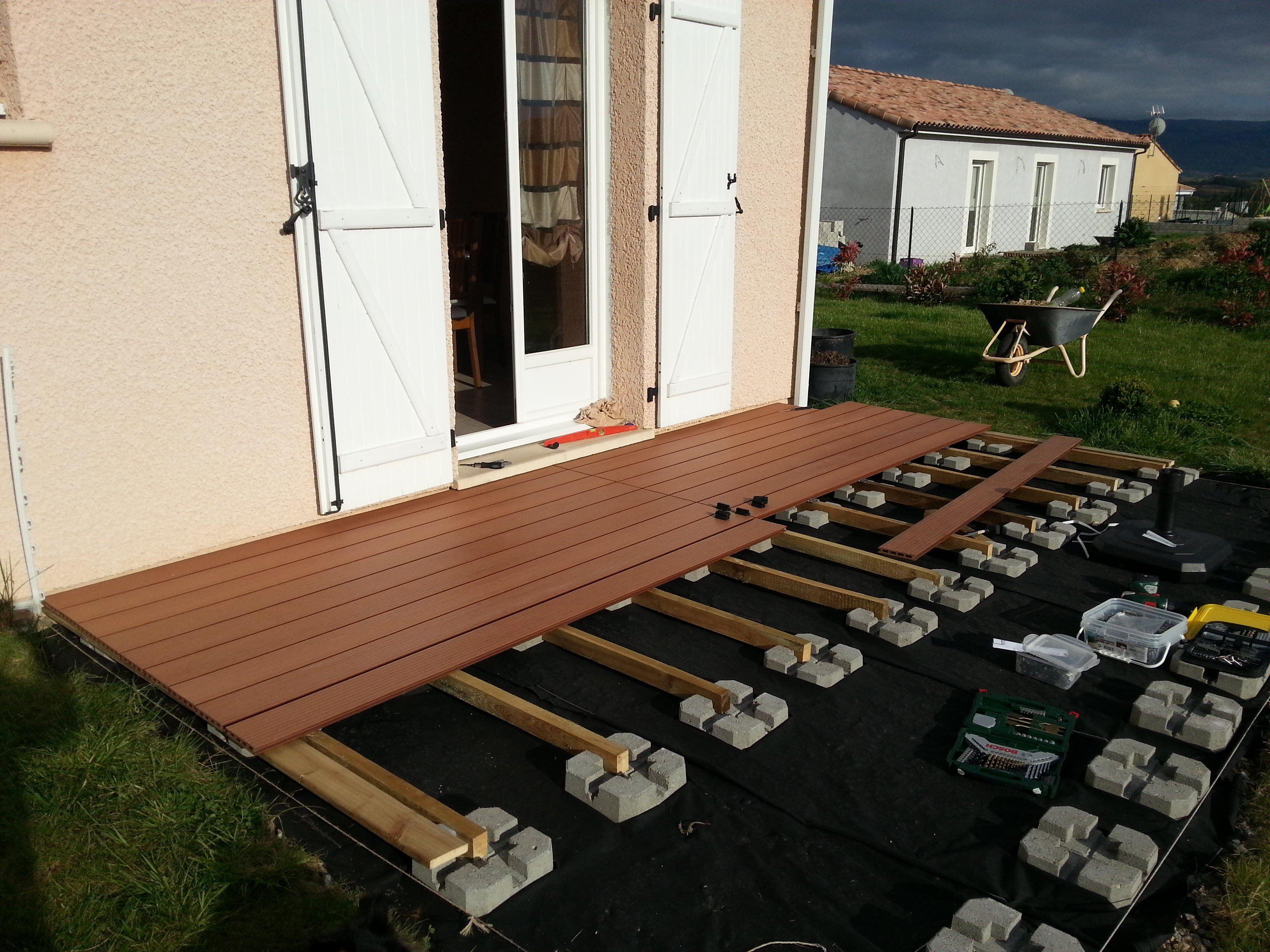 Genial Faire Une Terrasse A Moindre Cout