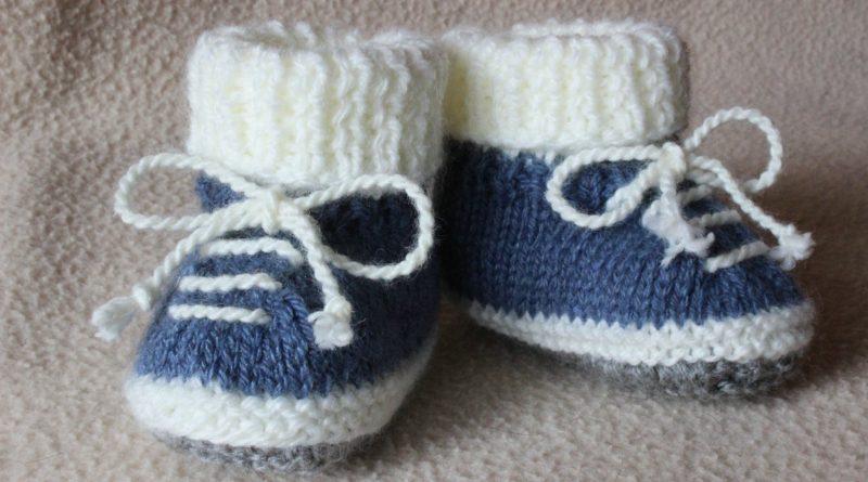 886ab616a94b Chaussons bébé au tricot gratuit - altoservices