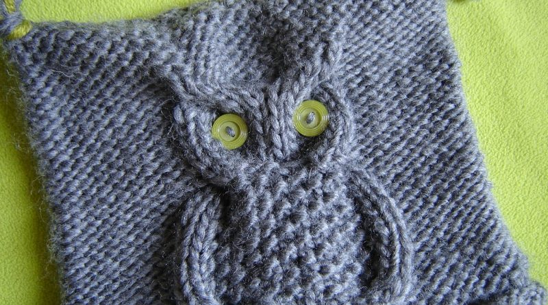 Comment tricoter un hibou en laine - altoservices 71f9d9ffd32