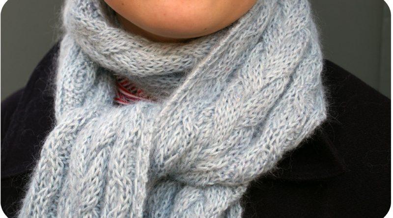 Apprendre a tricoter une echarpe - altoservices 82477b1376b