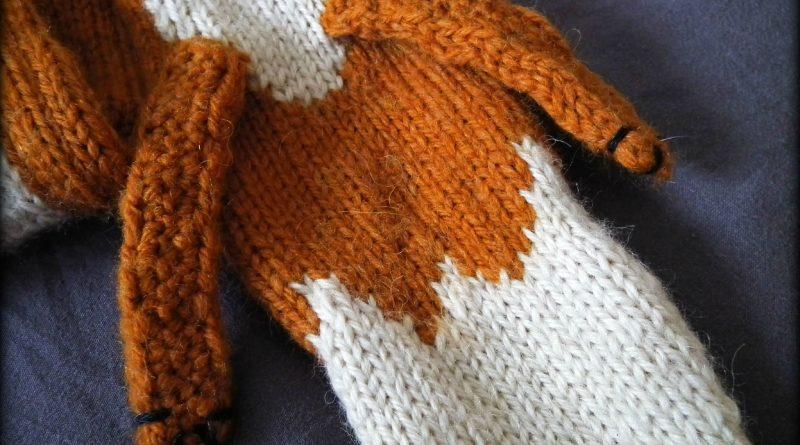 Patron tricot echarpe renard - altoservices a801c228559