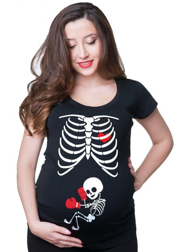 Halloween femme enceinte