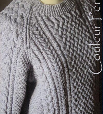 Pull irlandais homme à tricoter - altoservices e67b5ebe567