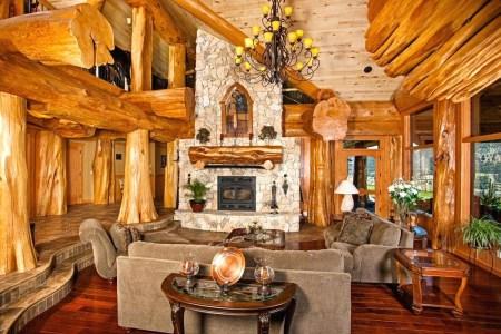 Maison en bois canada pioneer