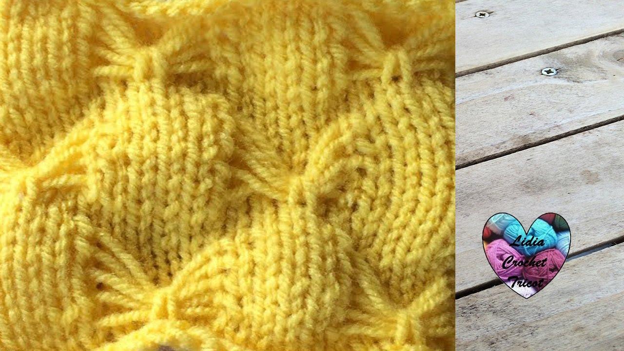 Point papillon tricot