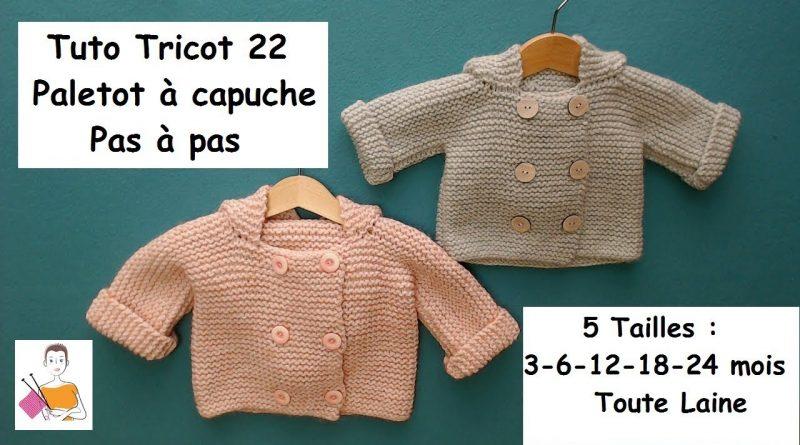 Paletot bébé tricot facile - altoservices 7e11e8ed786