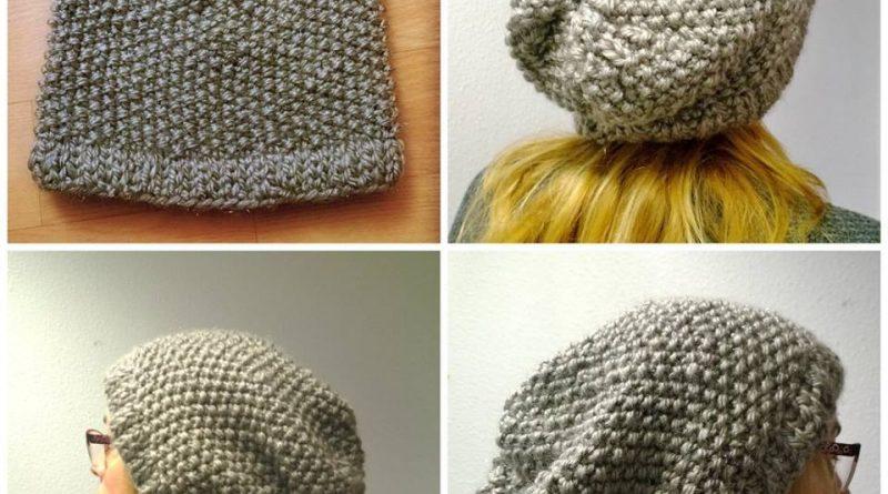 Tuto bonnet tombant tricot - altoservices 56c17acf4c5