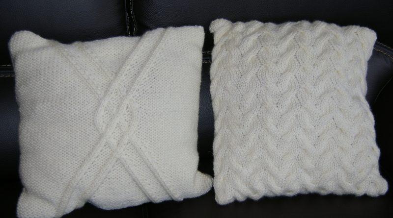 Modele de housse de coussin au tricot gratuit - altoservices b82cd3ee098