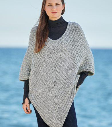 Patron tricot poncho femme gratuit - altoservices