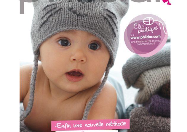 Phildar modele bonnet bebe gratuit - altoservices 5a9acb74079