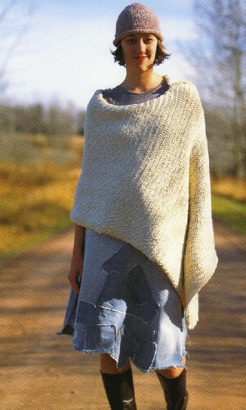 Modele tricot poncho femme facile gratuit - altoservices