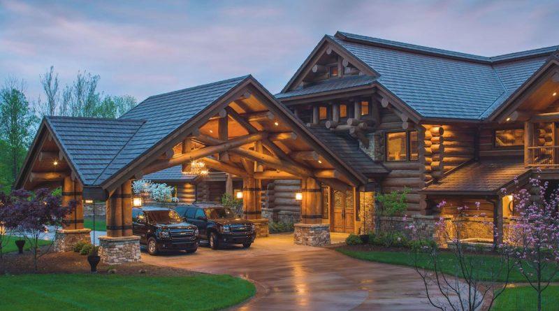 pioneer log homes france altoservices. Black Bedroom Furniture Sets. Home Design Ideas