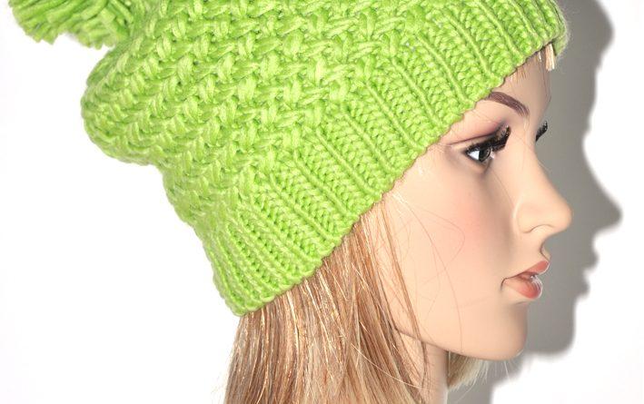 Cagoule tricot adulte - altoservices 83e95f4d25a