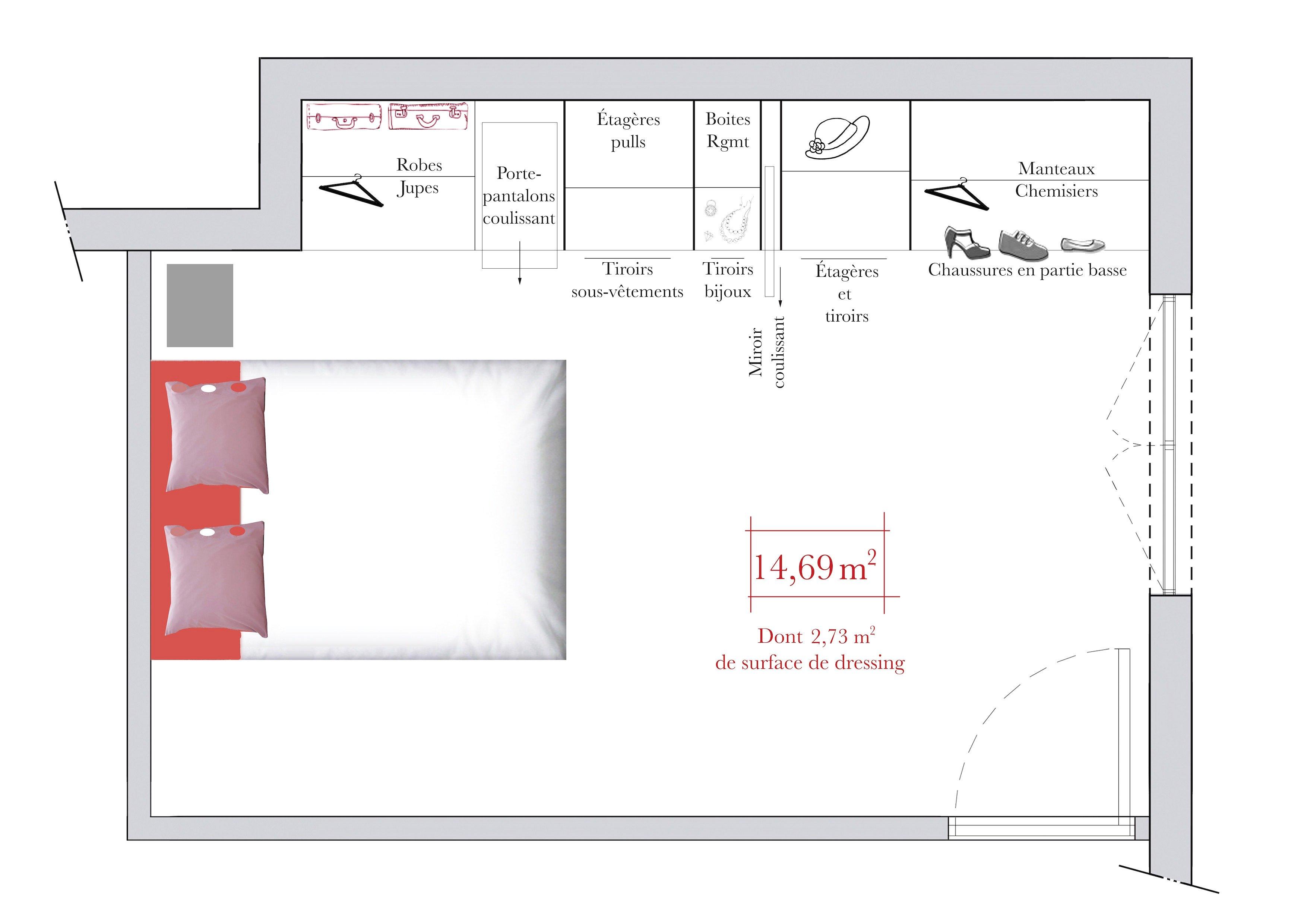 suite parentale 12m2 altoservices. Black Bedroom Furniture Sets. Home Design Ideas