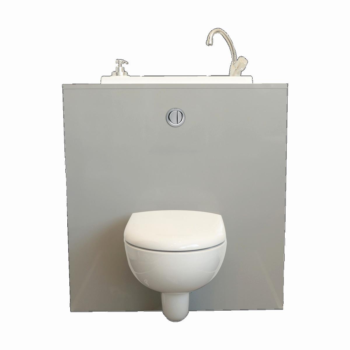 Wc avec lave main intégré lapeyre
