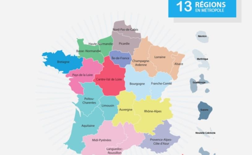 Noms des nouvelles régions de france 2016