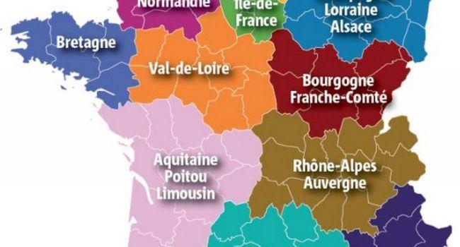 12 régions france