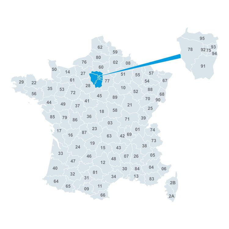 Département 20 france