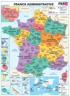 Nouvelles régions administratives françaises