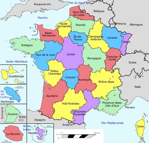 Carte europe ville principale