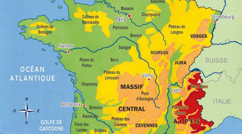 La carte du france - altoservices