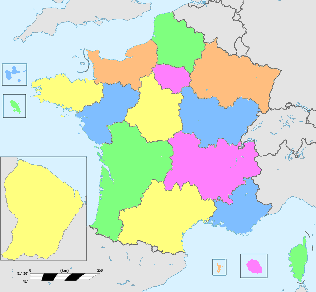 Departement 69 carte de france - altoservices