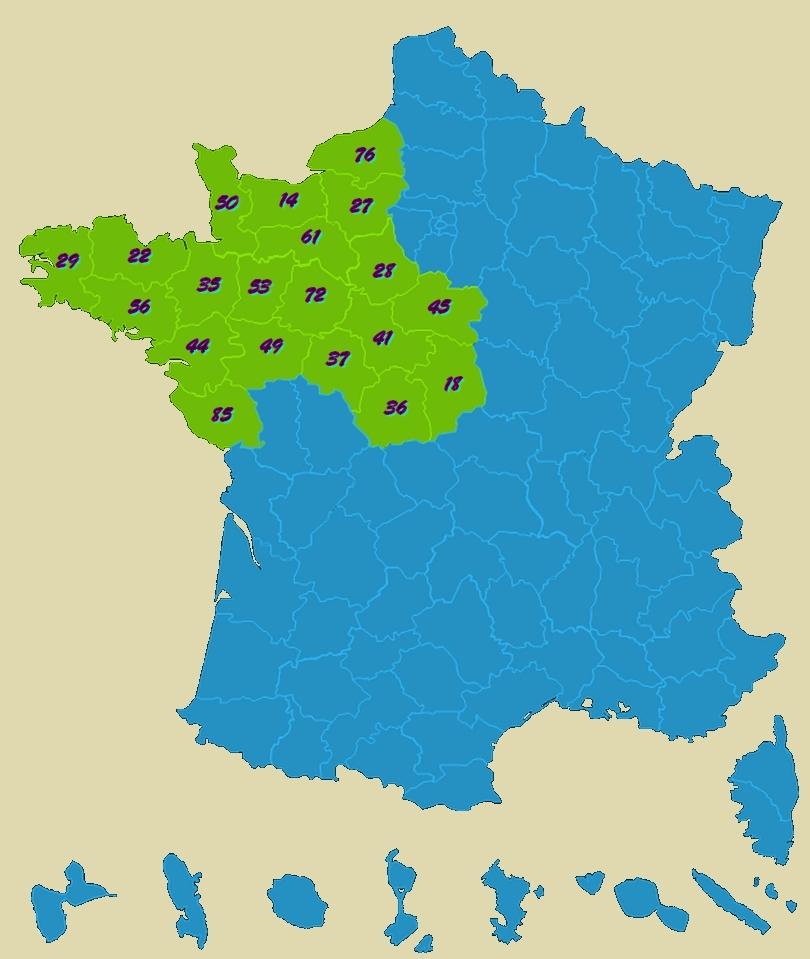 Département du nord de la france